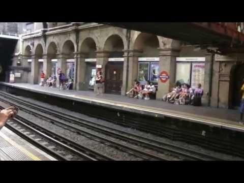 London Underground Paddington station