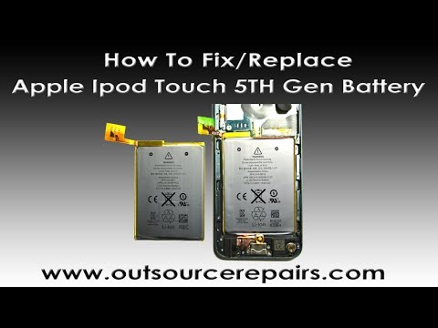 How to replace/fix Apple Ipod Touch 5TH Gen Battery