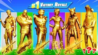 The *RANDOM* FULL GOLD BOSS Challenge!