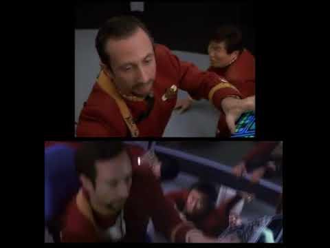 Star Trek VI vs. Star Trek Voyager