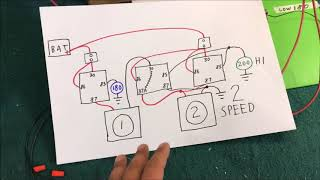 auto electric cooling fan WIRING how to DIY