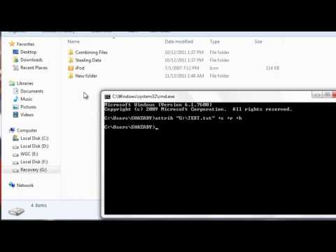 Security Tip : How To Hide Files/Folders Using Command Prompt
