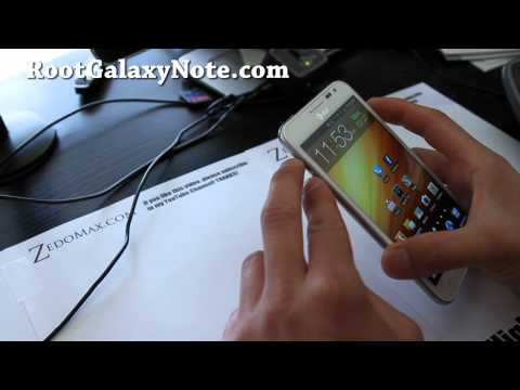 How to Install ClockworkMod Recovery on AT&T Galaxy Note SGH-i717! [Bell][Telus][Rogers]