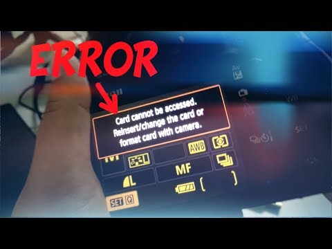 SD Card Error Cannot Access or Format | Solution on PC