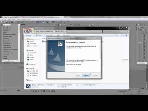 How to get Magic Bullet Looks for Sony vegas