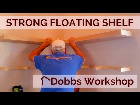 Strong Floating Shelves