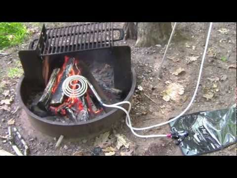 ShowerCoil Portable Water Heater and Solar Camping Shower System - Part 2 of 2