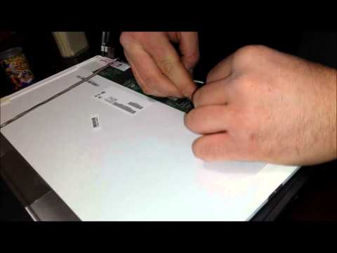Laptop screen replacement / How to replace laptop screen Acer Aspire E1-731-4656