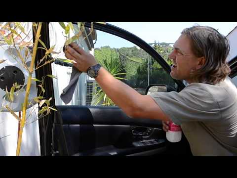 DIY How to Remove Tinted Car Windows and Glue in Less than 5 minutes