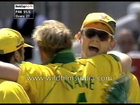 Australia vs Pakistan : Cricket World Cup 1999 group match