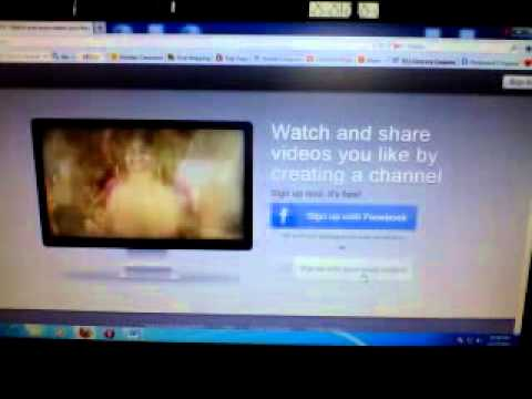 My.TV video sharing website