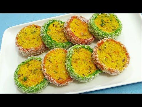 सुबह का नाश्ता या बच्चों का टिफिन झटपट बनायें ये टेस्टी नाश्ता - Sangita Agarwal - Tasty Breakfast