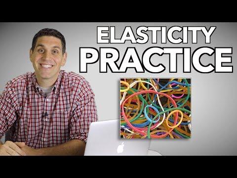 Elasticity Practice- Micro 2:13