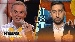Zion will be an instant star, Mahomes is already a Hall of Fame contender — Nick Wright | THE HERD
