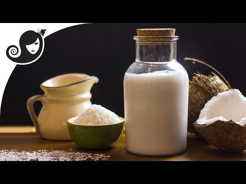 Homemade Coconut Milk | Non Dairy Milk Substitute | Vegan/Vegetarian Recipe