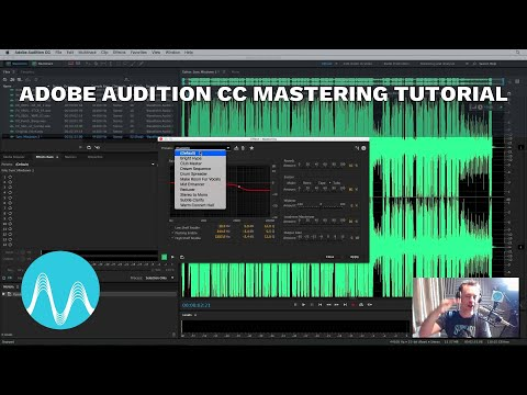Adobe Audition CC Mastering Tutorial