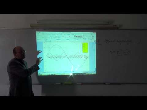 Harmonics VII: Checking the square wave solution using Excel, 16/3/2014