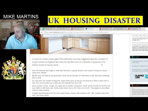 UK  HOUSING DISASTER - GOD SAVE THE QUEEN EDITION
