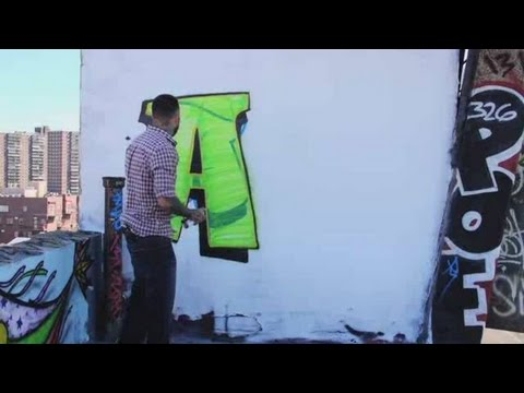 How to Draw an A | Graffiti