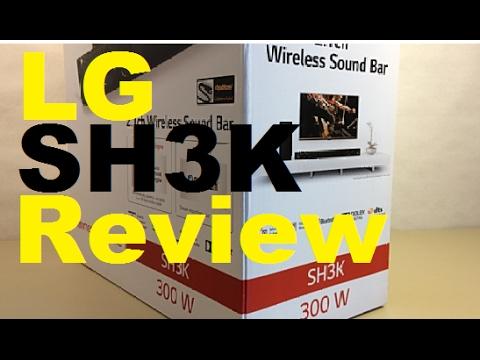 LG SH3K Soundbar Wireless Subwoofer Review