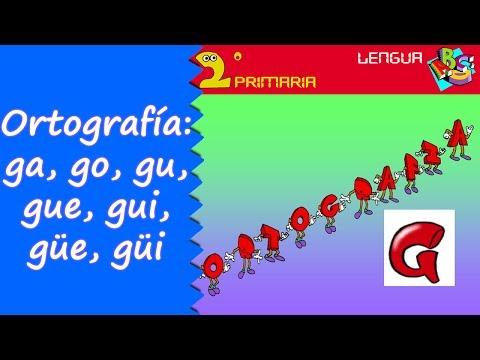 Xxx Mp4 Lengua 2º Primaria Tema 5 Ortografía Ga Gue Gui Go Gu Güe Güi 3gp Sex