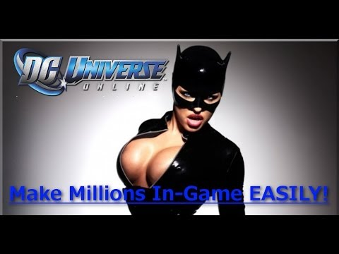 DC Universe Online | Share Items From A Villian To a Hero - Make Millions!