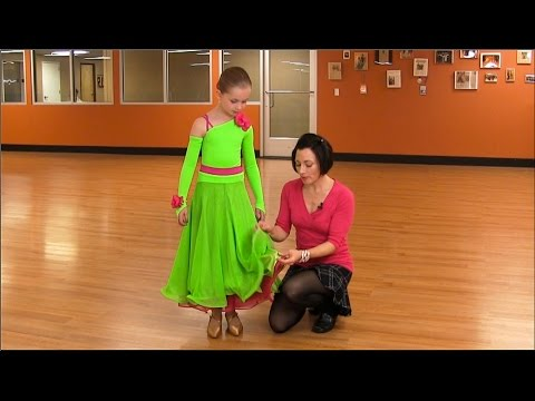 How To Make A Junior's Competition Latin Dress & Ballgown Dress