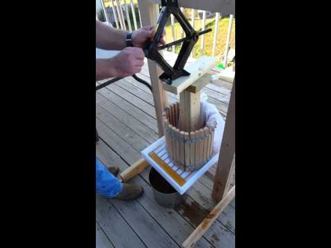 Homemade Fruit Press