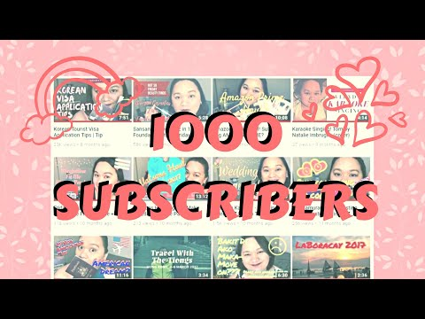 10 years and 1000 Subscribers Special