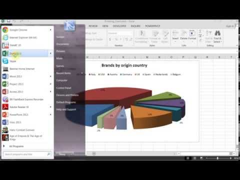 Excel Magic: Spinning Chart - VBA
