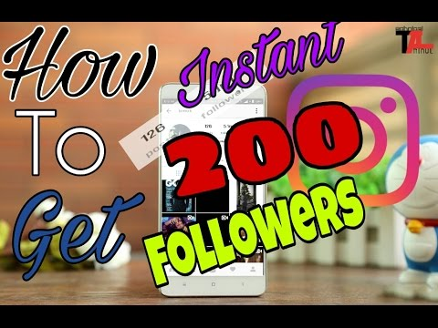 How To Get Followers on Instagram [Instant 200]