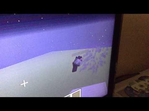 Minecraft Xbox | Cool floating carpet glitch
