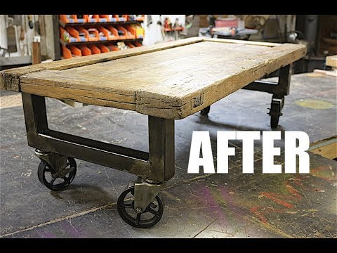 I Upcycled a Reclaimed Coffee Table - Whah?