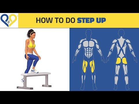 Best Butt Exercises: Step Ups
