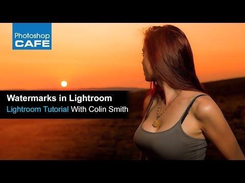 how to Watermark photos in Lightroom 6 | Lightroom CC Tutorial