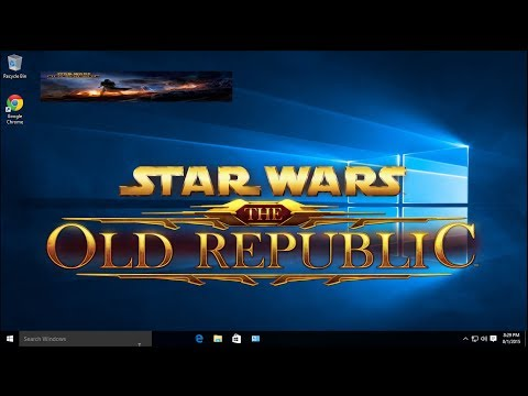 SWTOR If your game CRASHES BEFORE YOU LOAD IN or if your GAME OPENS TINY (800x600 or smaller) bugfix