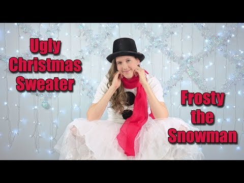 Ugly Christmas Sweater  - Snowman Outfit