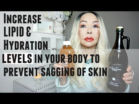 Avoid DEFLATION of your SKIN by Increasing LIPID & HYDRATION in your body