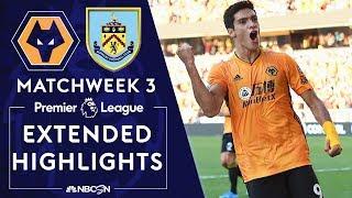 Wolves V Burnley PREMIER LEAGUE HIGHLIGHTS 82519 NBC Sports