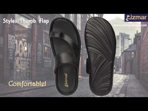CIZMAR Leather Slippers
