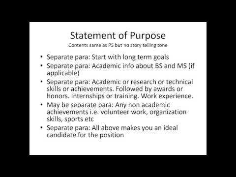 Personal Statement, Statement of Purpose, Motivation letter, Cover letter, by M. Ayaz Khan, PhD
