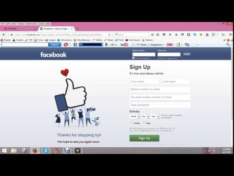 How to Facebook Language change