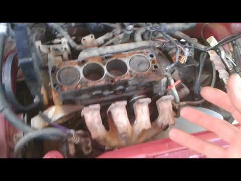 Daewoo Lanos 1.4L - Engine Dismantling before Swap and Autopsy (Part 1)