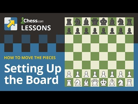 Learn to Play Chess: How to Setup a Chessboard!