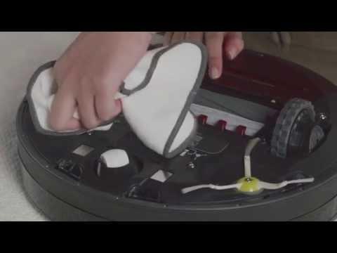 Camera Window and Floor Tracking Sensor Care for iRobot® Roomba® 980 Vacuuming Robot
