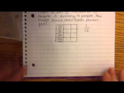 Creating division of fraction word problems
