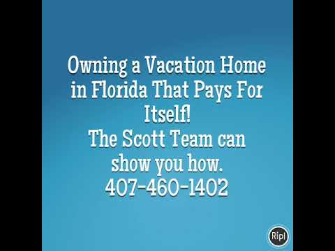 Owning a vacation home in Florida that pays for itself!