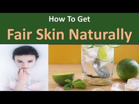 How to get Fair Skin Naturally|Fresh lemon juice rinse
