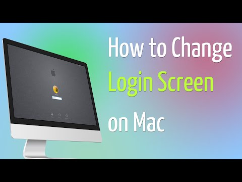 How to Change Login Screen on a Mac