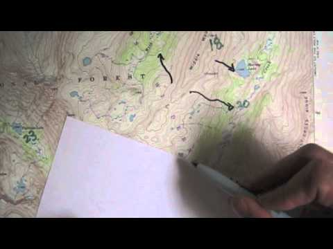 Recognizing Features from a Topographic Profile 20